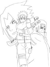 Regular Coloring Pages To Print Download This Naruto Shippuden