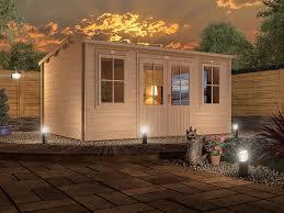 office man cave. Log Cabin Garden Home Office Man Cave UK - W4.5m X D2.