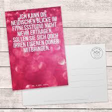 Mr Mrs Panda Postkarte Spruch Ich Kann Die Neidischen Blicke Im