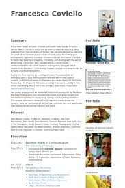 Content Writer Resume samples   VisualCV resume samples database