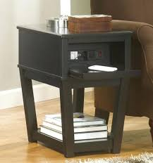 small black wood table and chairs furniture tall end tables with storage side inch round drawer small black table end