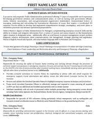 Student Affairs Officer Sample Resume Impressive Lobbyist Resume Template Kor44mnet