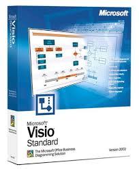 Microsoft Visio Microsoft Visio Standard 2002 Old Version