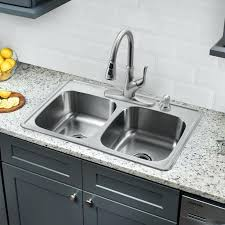 drop in stainless steel kitchen sink x double bowl drop in stainless steel kitchen sink with