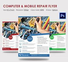 Computer Repair Flyer Template Enchanting Cell Phone Repair Flyer Template Erkaljonathandedecker