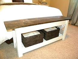 I End Of Bed Bench Modern Concept Wood Bedroom Storage With Best Ideas  About
