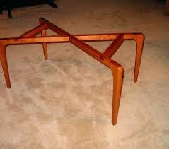 coffee table base round diy stone glass top metal wood