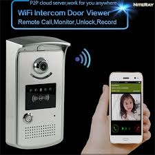 wireless front door cameraAliexpresscom  Buy Best home security system wireless doorbell 1