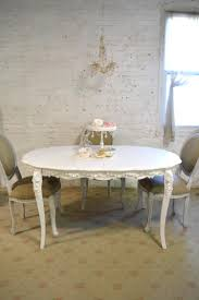 French Dining Table Painted Cottage