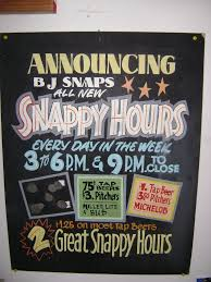 Snappy Design Signs Snappy Hours Sign Writing Hand Painted Signs Hand Lettering