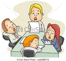 boring people clipart. bored meeting - illustration of a employees dozing off while. boring people clipart o