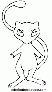 Small Picture pokemon 151 Mew bis coloring pages