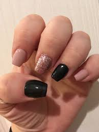fashion black and pink nail art ideas sensational nails ideas elegant nail art step by