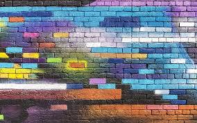 hd wallpaper colorful wall graffiti