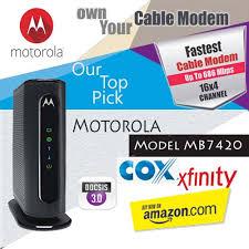 motorola 16x4 cable modem model mb7420. best cable modem for comcast motorola 16x4 model mb7420