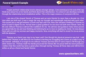 funeral speech examples are great help to write own speech funeral speech samples online from experts