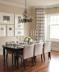 Dining Room: Black And White Wall Art In Dining Area - Dining Room