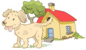 animal home clipart.  Clipart Dog Home Boarding To Animal Clipart L