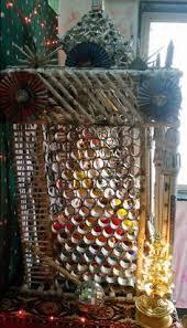 ganpati decoration makhar ganpati pinterest decoration