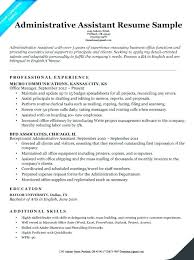 Resume For Executive Assistant Cool Administrative Executive Resume Putasgae