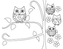 Small Picture Elegant Coloring Pages Of Owls 49 For Line Drawings with Coloring