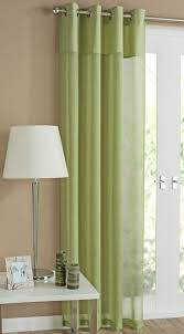 rio lime green eyelet curtain a modern and chic lime voile panel with a linen