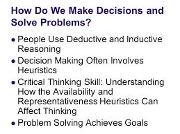 Critical Thinking And Decision Making  Guiding Questions KI Group