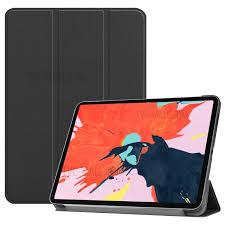 <b>Tri</b>-<b>fold Stand</b> Smart PU Leather Protection <b>Case for</b> iPad Pro 12.9 ...