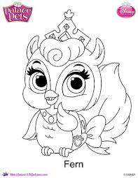 Small Picture Disney Princess Palace Pets Coloring page of Fern Princess