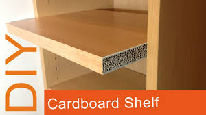 diy cardboard furniture. DIY How To Make A Cardboard Shelf (2nd Way) HD (corrugated Furniture) Diy Furniture R