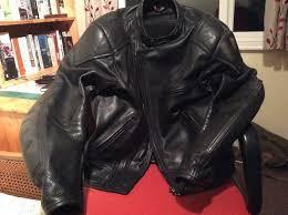 vintage size 42 swift leather motorcycle jacket