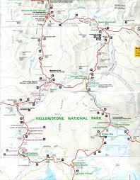 popular  list yellowstone map of attractions