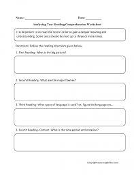 Excel. printable reading comprehension: Reading Comprehension ...
