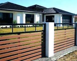 front yard fence. Front Fence House Ideas Yard Fencing For Your Modern Farmhouse Wooden W