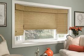 Manh Truc WOVEN WOOD ROMAN SHADES - BAY WINDOW SHADES - Lafayette  contemporary-living-