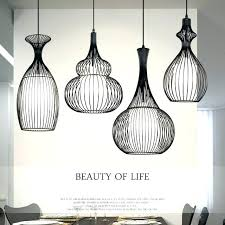 lovely wire cage light vintage industrial pendant lights modern led retro cage light wrought iron lamp
