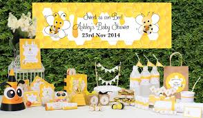 10 Beautiful Baby Shower Ideas  The Kennedy AdventuresBumble Bee Baby Shower Party Favors