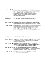 Therapist Resume Template Executive Therapist Resume Template Page 5