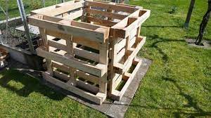 build a raised bed from pallets