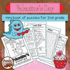 valentine s day mini book for second graders