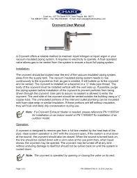 Chart New Prague Mn Cryovent User Manual Us Manualzz Com