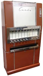 Coin Operated Candy Vending Machine Stunning Coinoperated Candy Machine National Vending MachineSeries 48C