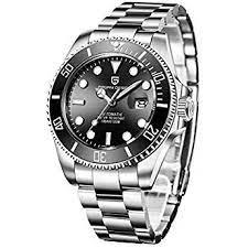 Pagani Design Automatic Divers Beobachtet Die Analoge Automatik Uhr Der Männer Mit Edelstahlband Uhren Uhren Herren Edelstahl Armband