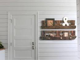 how to make diy wood pallet shelves