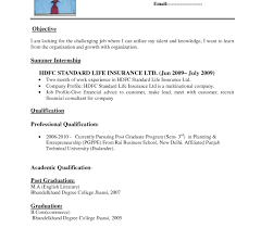 Resume Template Curriculum Vitae Format For Freshers Pdf Download ...