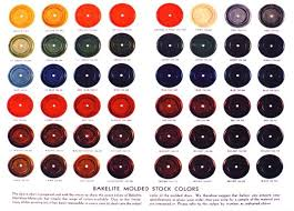 Bakelite Color Chart A Guide To Bakelite Color Vintage Costume Jewelry Plastic