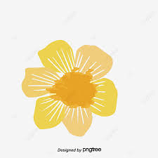 watercolor daisy chain vector png