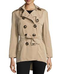 new burberry brit 2017 authentic knightsdale short hooded trench coat
