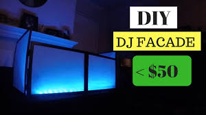 homemade dj facade less than 50 diy
