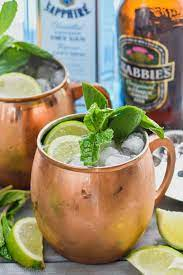 moscow mule with gin gin gin mule